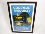 LATE 1930S GOODYEAR TIRES SALES POSTER