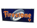 1930S FIRESTONE TIRES PORCELAIN GARAGE SIGN