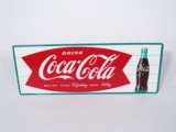 LATE 1950S-EARLY 60S COCA-COLA TIN SIGN