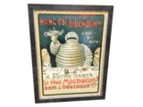 1898 MICHELIN TIRES SERVICE STATION POSTER