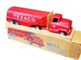 CIRCA LATE 1950S TEXACO OIL BUDDY L PROMOTIONAL METAL TANKER TRUCK
