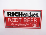 CIRCA 1940S RICHARDSON ROOT BEER EMBOSSED TIN SIGN