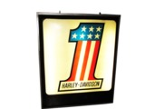 VINTAGE CIRCA 1970S HARLEY-DAVIDSON LIGHT-UP DEALERSHIP SIGN