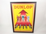 1930S DUNLOP BICYCLE TIRES DEALER POSTER
