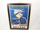 CIRCA 1910 MICHELIN BICYCLE TIRES  DEALER POSTER