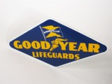 1946 GOODYEAR TIRES PORCELAIN DEALERSHIP SIGN