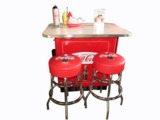 1950S COCA-COLA SODA BAR