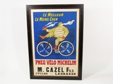 CIRCA 1910 MICHELIN TIRES DEALER DISPLAY POSTER