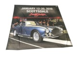 ADDENDUM ITEM - AUTHENTIC SCOTTSDALE 2019 BARRETT-JACKSON EVENT STAGE PROMOTIONAL BANNER.