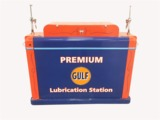 1940S GULF OIL SERVICE DEPARTMENT LUBRICATION SYSTEM