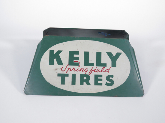 CIRCA 1950S KELLY SPRINGFIELD TIRES METAL DISPLAY STAND