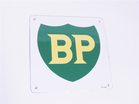 BRITISH PETROLEUM PORCELAIN PUMP PLATE SIGN