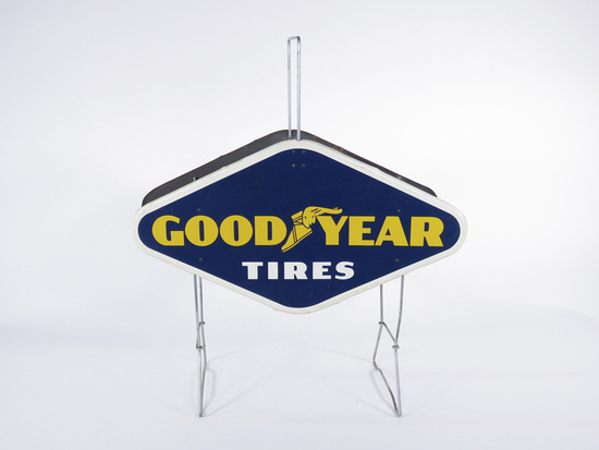 1959 GOODYEAR TIRES TIN DISPLAY
