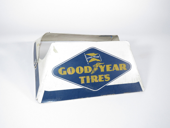 CIRCA LATE 1940S-EARLY 50S GOODYEAR TIRES METAL DISPLAY STAND