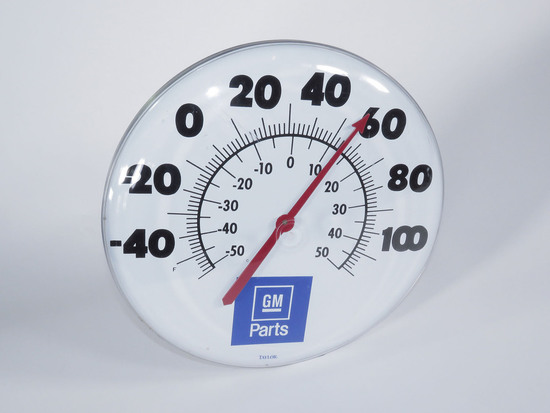 NEWER GM PARTS SERVICE DEPARTMENT DIAL THERMOMETER