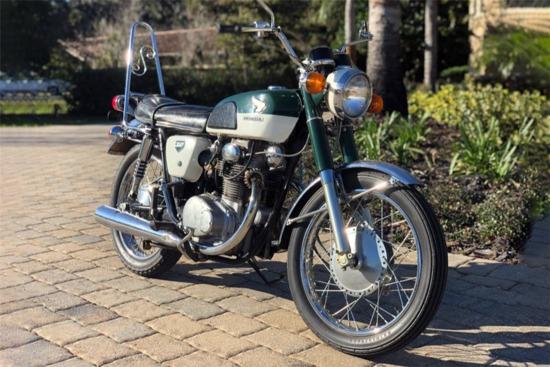 1968 HONDA CB350 MOTORCYCLE