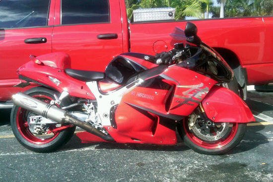 2005 SUZUKI GSX1300R CUSTOM MOTORCYCLE