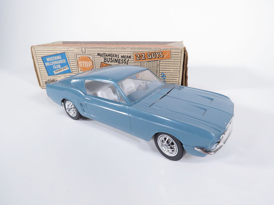 1967 AMF WEN-MAC 289 FORD MUSTANG GT FASTBACK 2+2