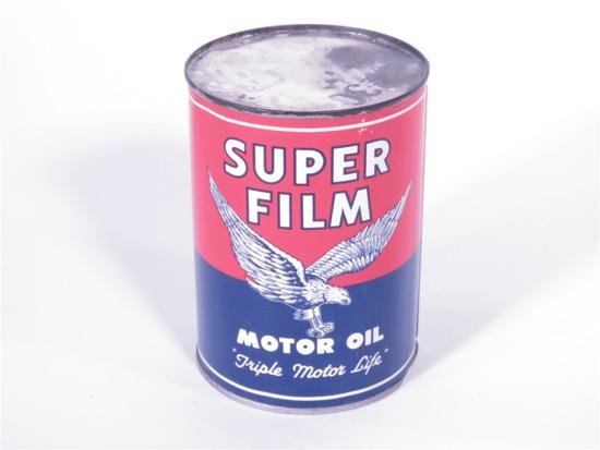 SUPER FILM MOTOR OIL QUART TIN