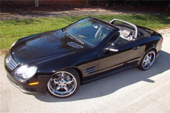 2003 MERCEDES-BENZ SL500R ROADSTER