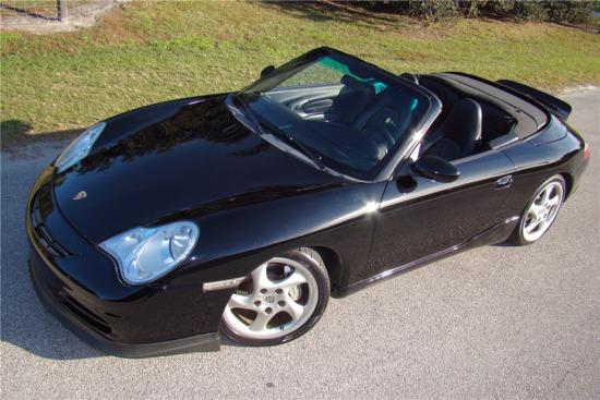 2002 PORSCHE 911 CARRERA 4 CONVERTIBLE