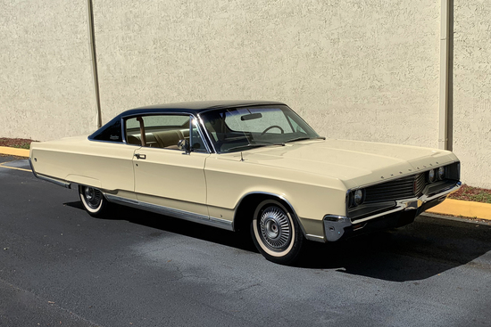 1968 CHRYSLER NEWPORT CUSTOM HARDTOP