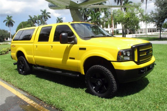 2006 FORD F-250 AMARILLO CUSTOM PICKUP