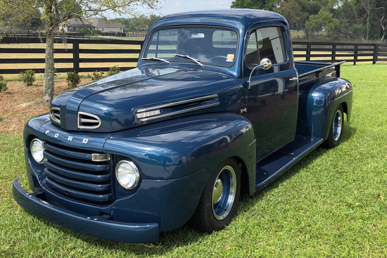 1950 FORD F-1 CUSTOM PICKUP