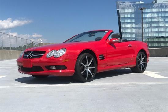 2003 MERCEDES-BENZ SL500 ROADSTER