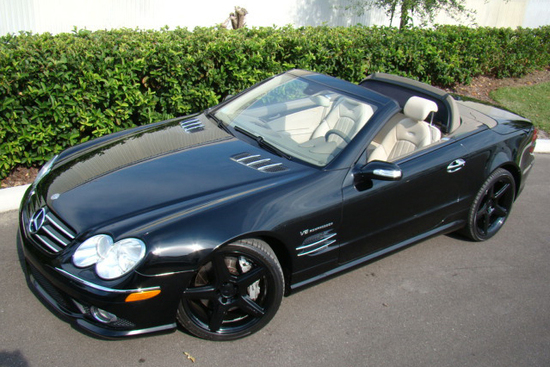 2007 MERCEDES-BENZ SL55 AMG ROADSTER