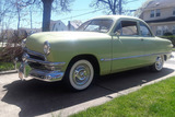 1950 FORD CUSTOM DELUXE CLUB COUPE