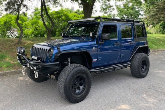2010 JEEP WRANGLER CUSTOM SUV