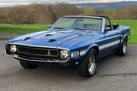 1970 FORD MUSTANG GT500 RE-CREATION CONVERTIBLE