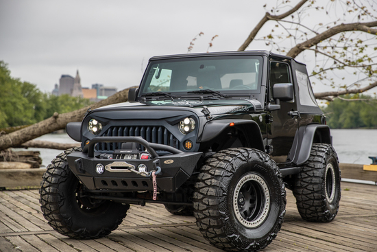 2011 JEEP WRANGLER RUBICON CUSTOM SUV