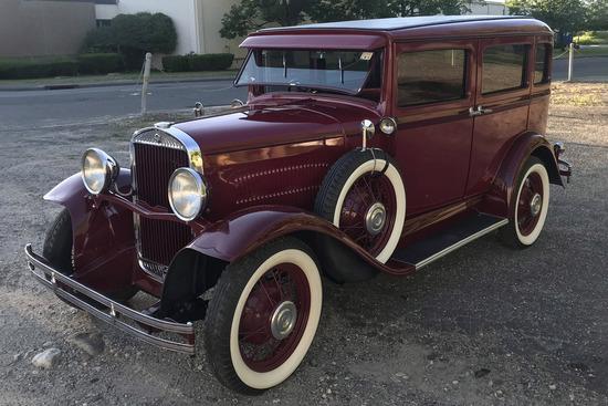 1930 HUDSON SUPER 6