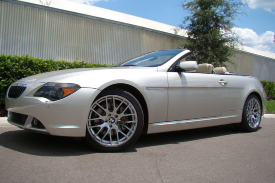 2007 BMW 650i CONVERTIBLE