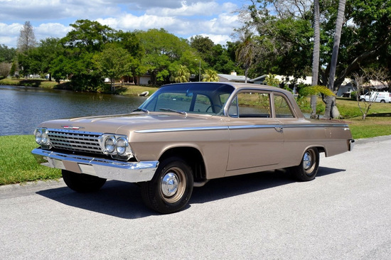 1962 CHEVROLET BEL AIR CUSTOM 2-DOOR POST