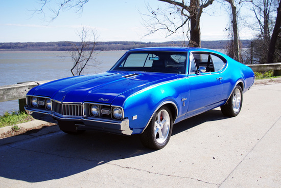 1968 OLDSMOBILE CUTLASS S CUSTOM COUPE