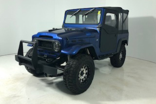 1970 TOYOTA LAND CRUISER FJ40 CUSTOM SUV