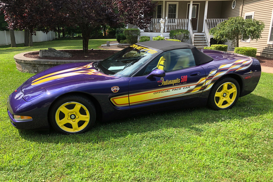 1998 CHEVROLET CORVETTE PACE CAR CONVERTIBLE