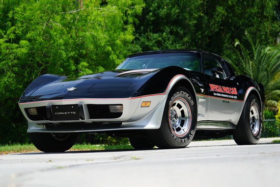 1978 CHEVROLET CORVETTE INDY PACE CAR