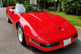1991 CHEVROLET CORVETTE 350/245 CONVERTIBLE