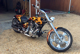 BRET MICHAELS 2007 AMERICAN IRONHORSE SLAMMER CUSTOM MOTORCYCLE