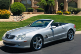 2003 MERCEDES-BENZ 500SL ROADSTER
