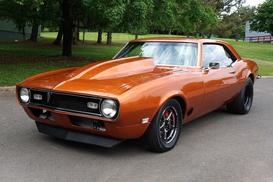 1968 CHEVROLET CAMARO CUSTOM COUPE