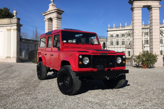 1991 LAND ROVER DEFENDER 110 CUSTOM SUV