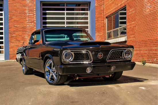 1966 PLYMOUTH BARRACUDA CUSTOM COUPE