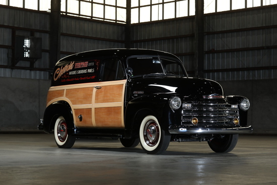 1953 CHEVROLET 3100 WOODY PANEL TRUCK