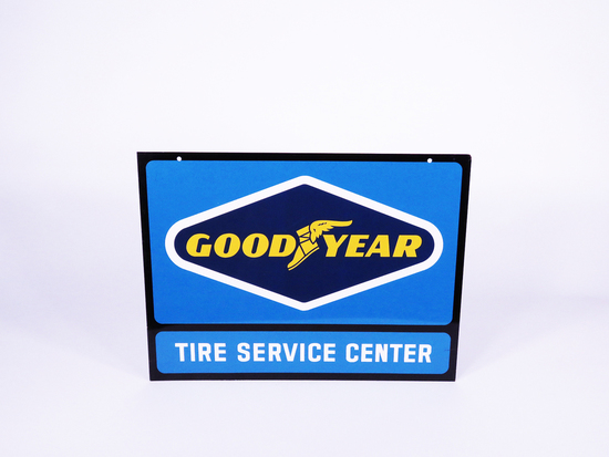 1960S GOODYEAR TIRE SERVICE CENTER TIN SIGN