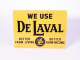 CIRCA 1940S-50S DE LAVAL TIN SIGN